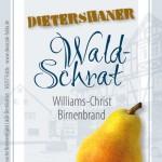 Etikett Williams-Christ Birnenbrand_0-5 Liter_farbig